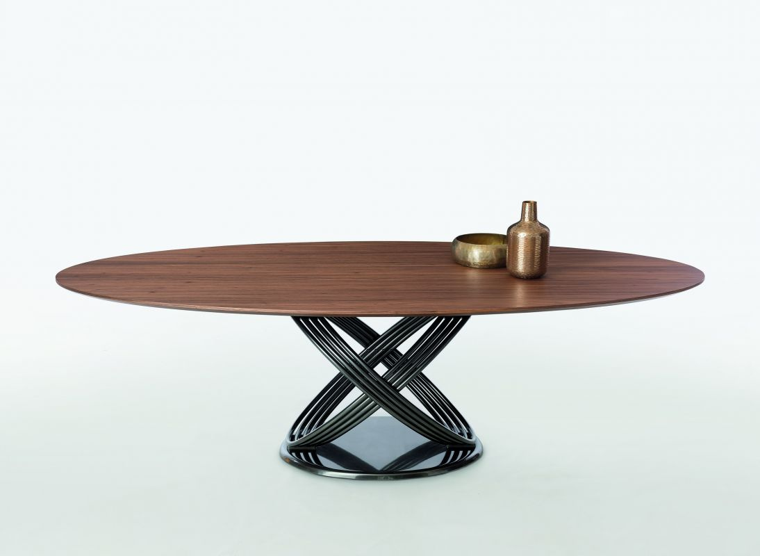 Fusion Oval Dining Table - Wood