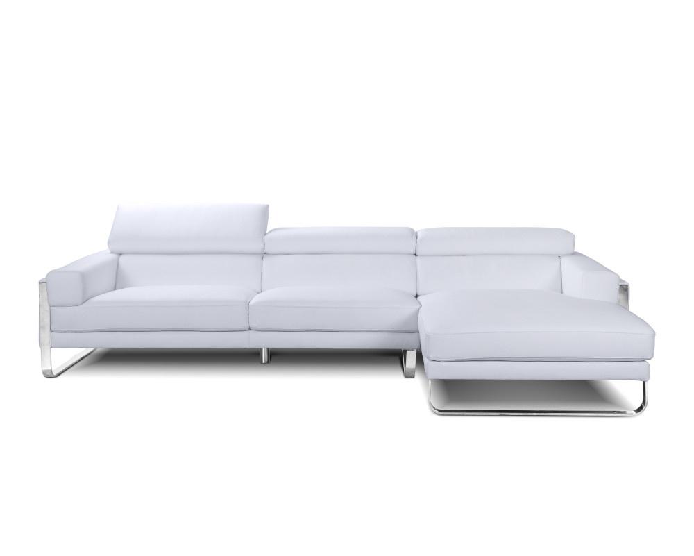 Juliett Leather Chaise Corner Sofa