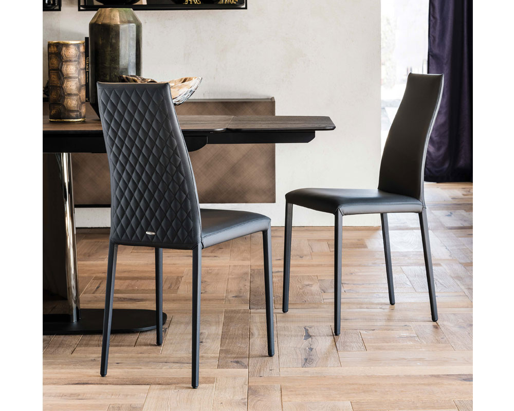 Kay High Back Couture Dining Chair