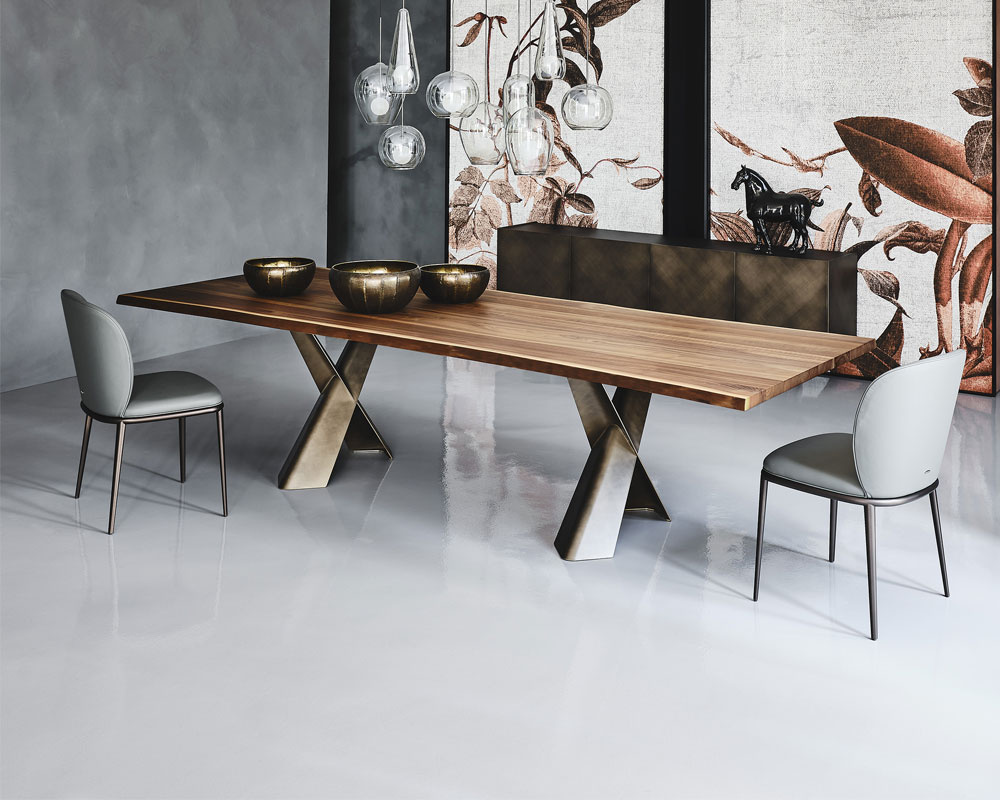 Mad Max Wood Dining Table - Version A