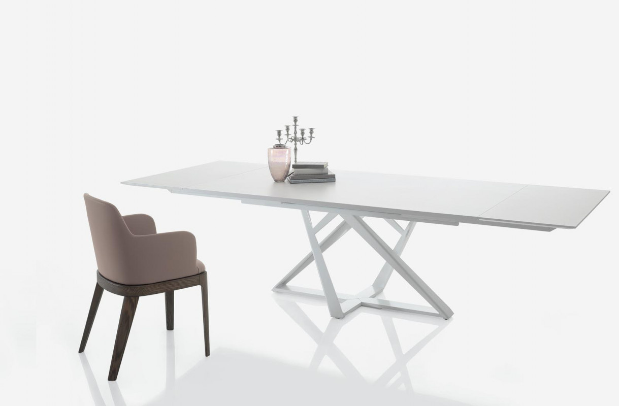 Millennium  Extending Glass Dining Table