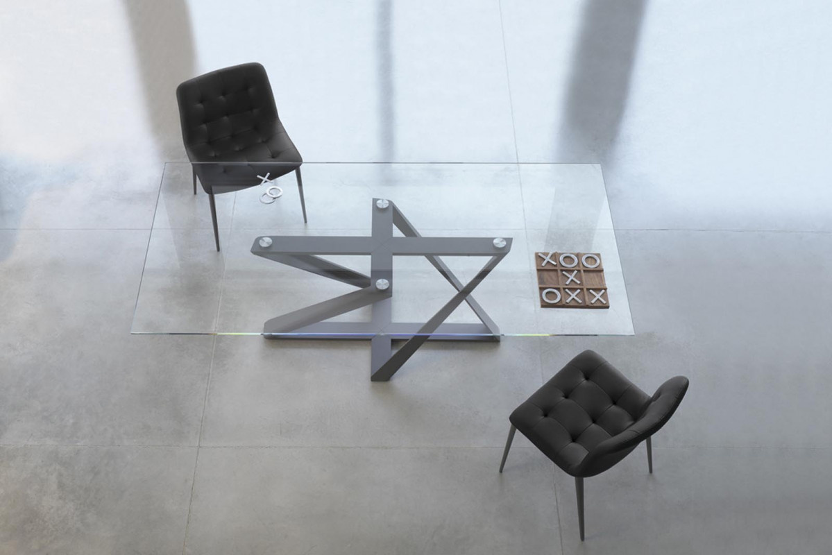 Millennium Glass Dining Table