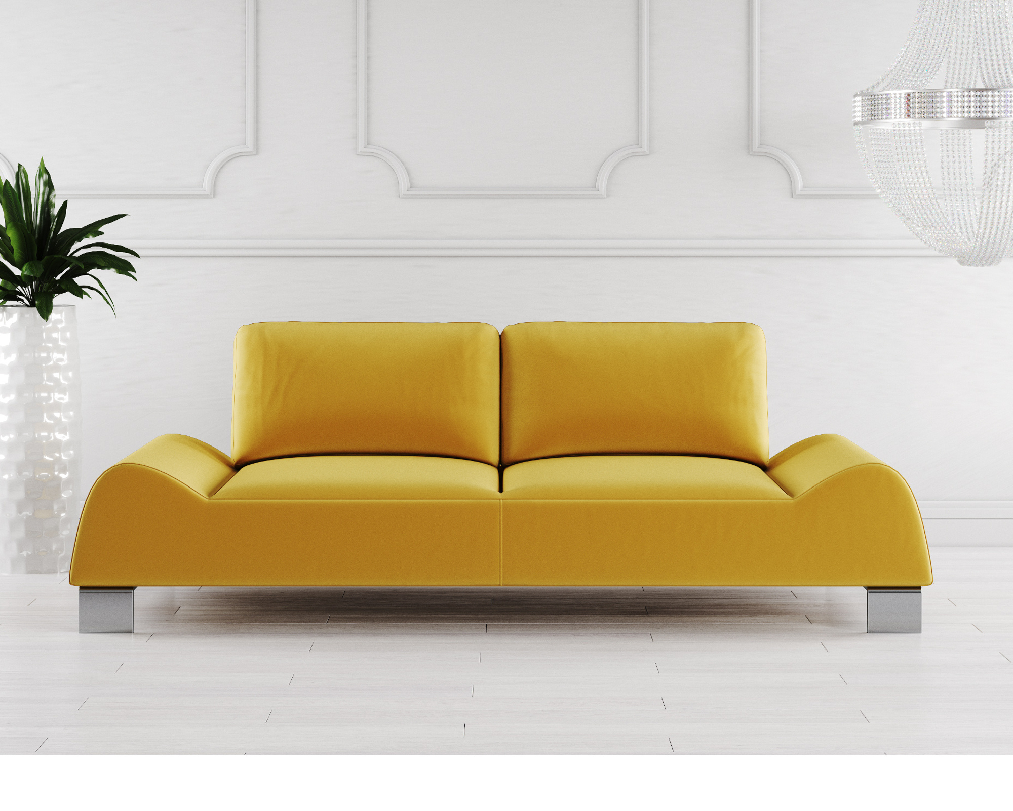 Mondena Fabric Sofa