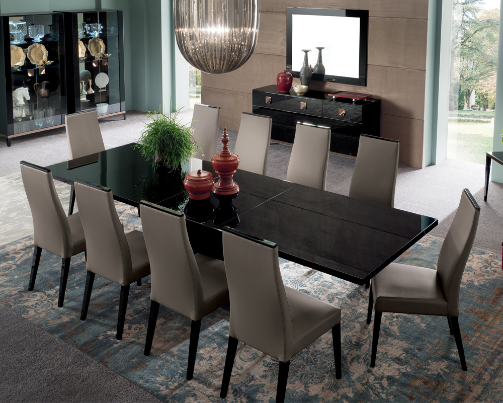 Noir Extending Dining Table