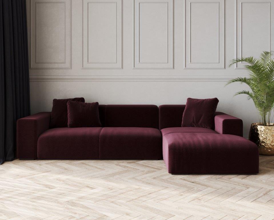 Nemo Low Fabric Corner Sofa