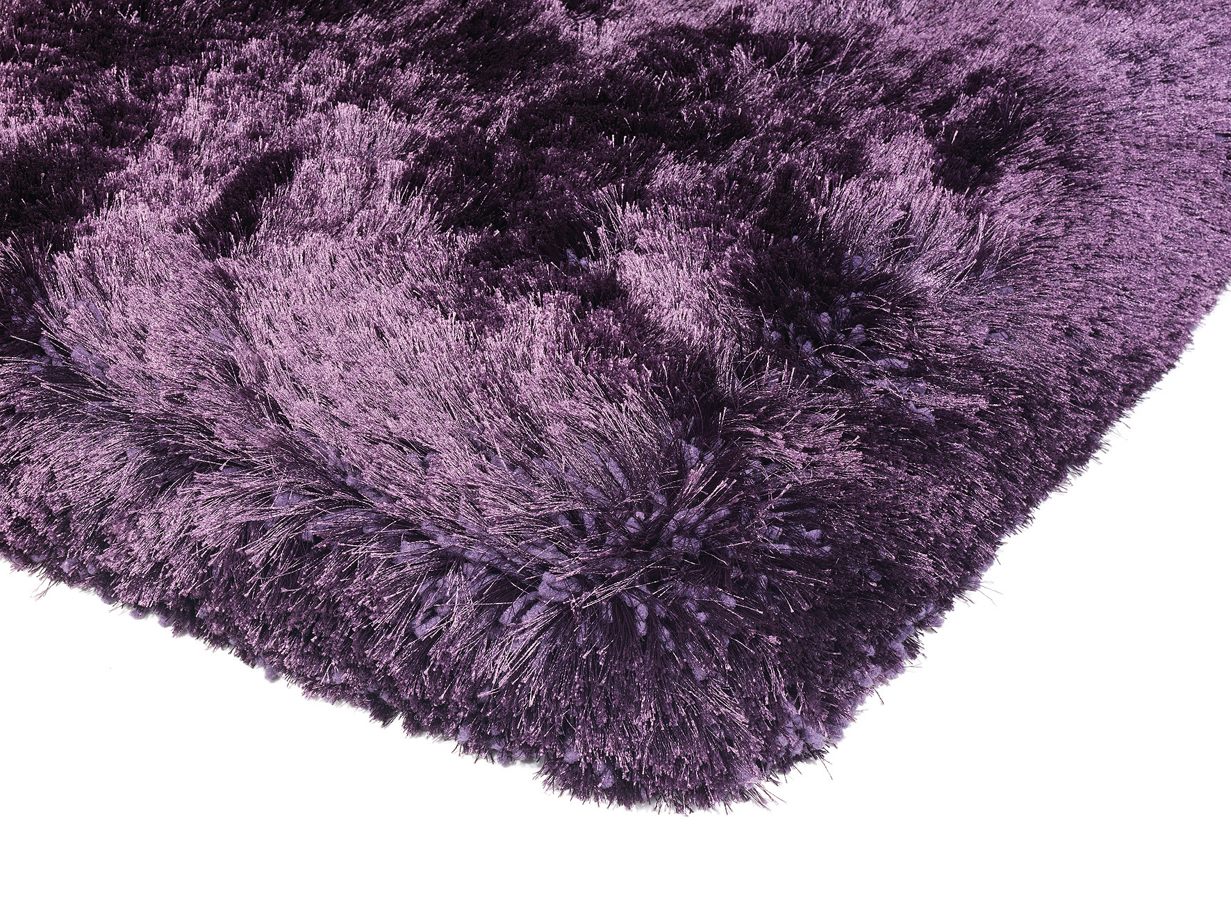 Plush Purple Rug