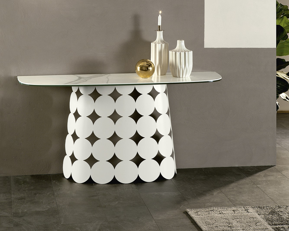 Pois Ceramic Console Table