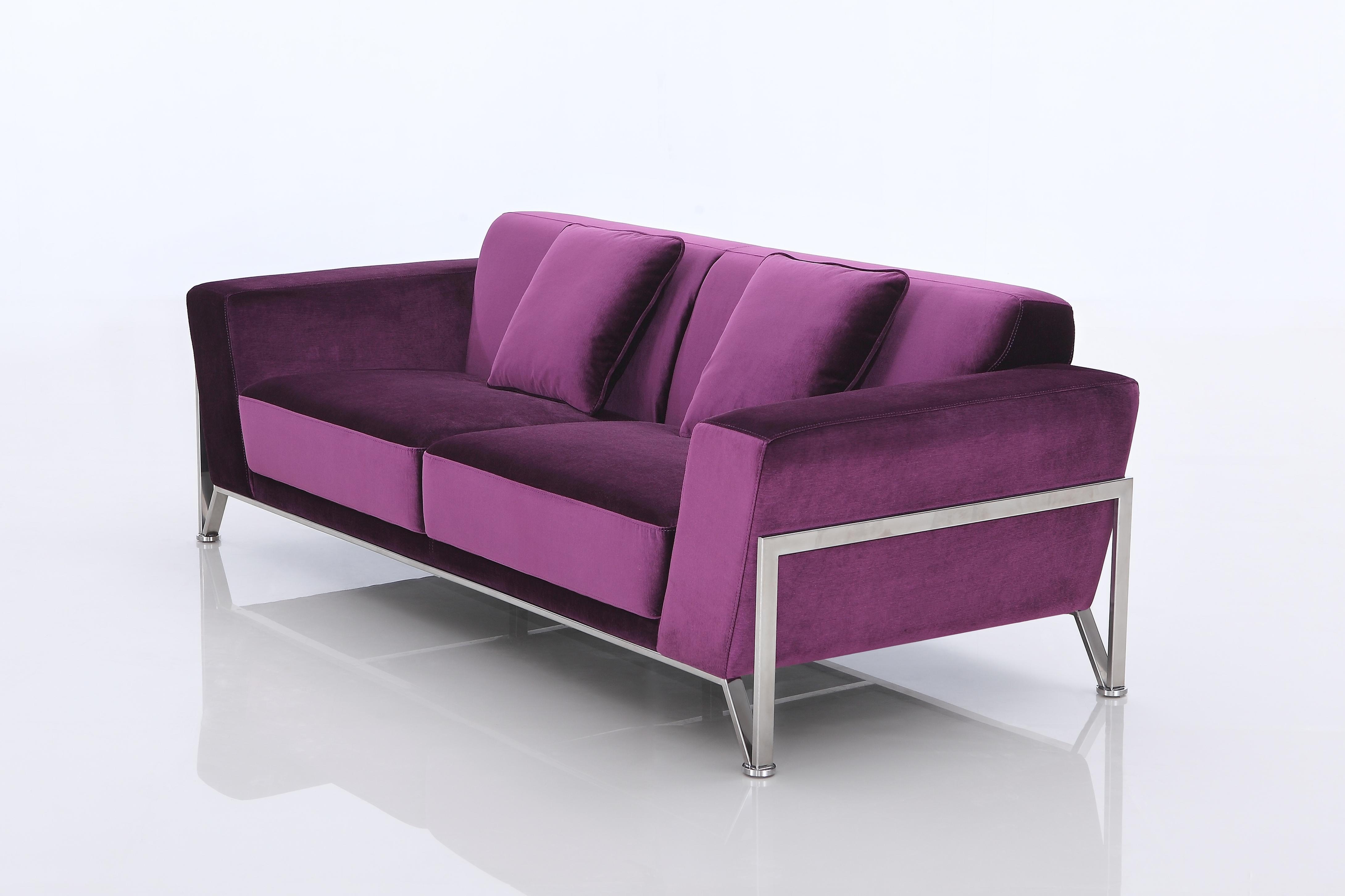 Rouche Fabric Sofa