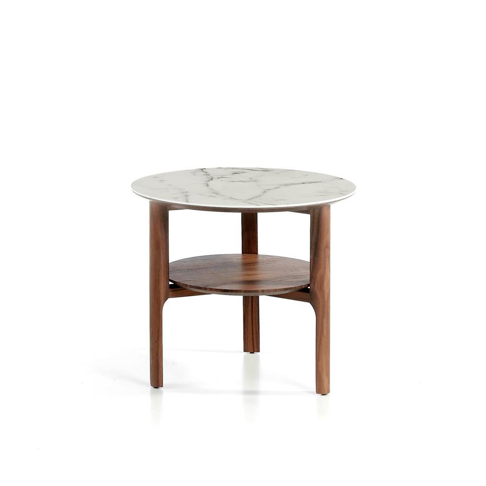 Newbury Glass Side Table