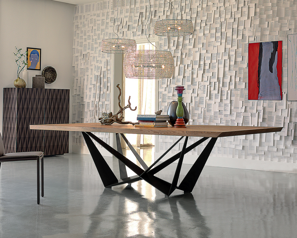 Skorpio Wood Dining Table