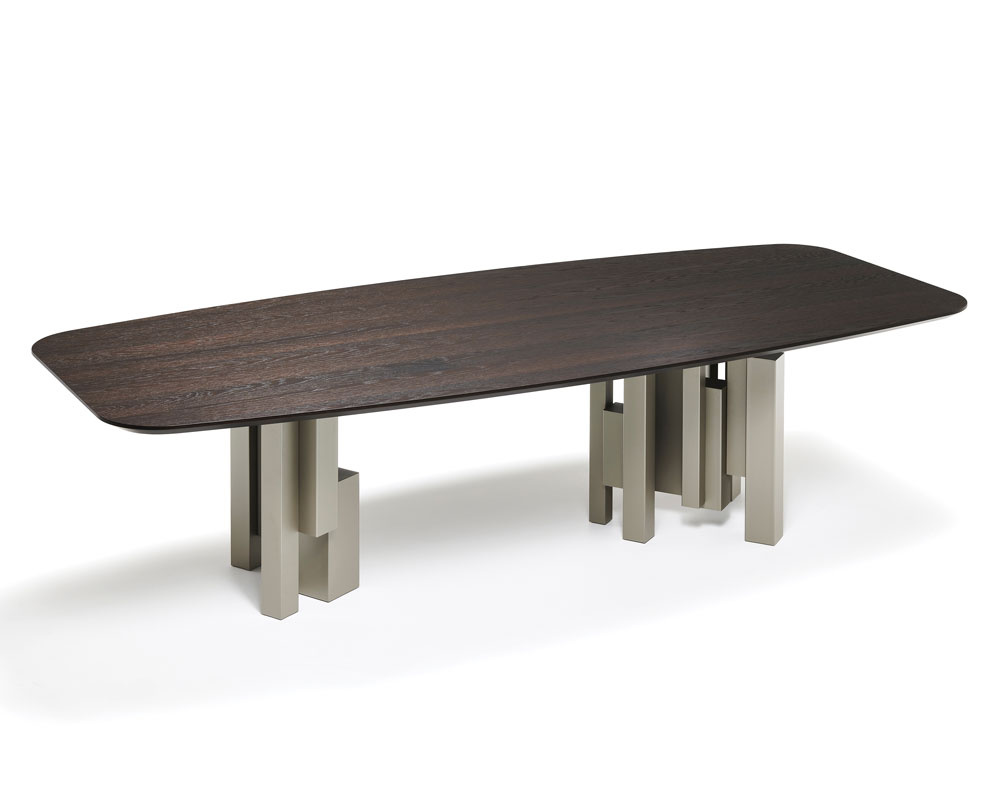 Skyline Wood Dining Table - Version B