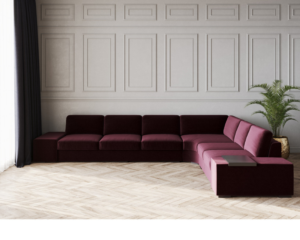 Spectrum Maxi Fabric Corner Sofa