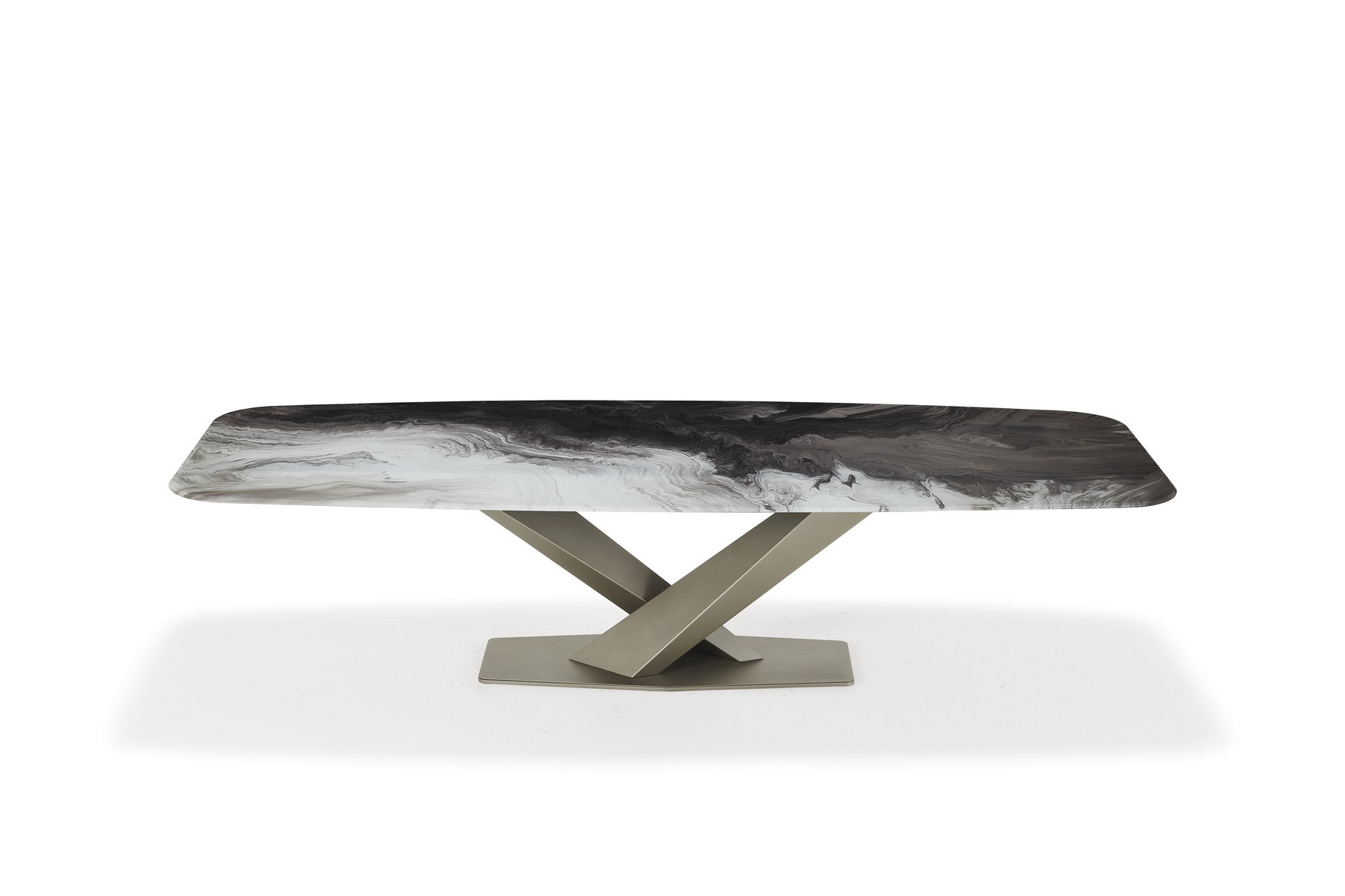 Stratos Crystalart Dining Table