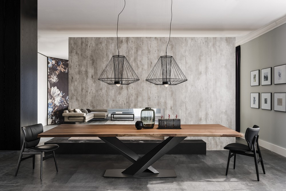 Stratos Wood Dining Table - A Version