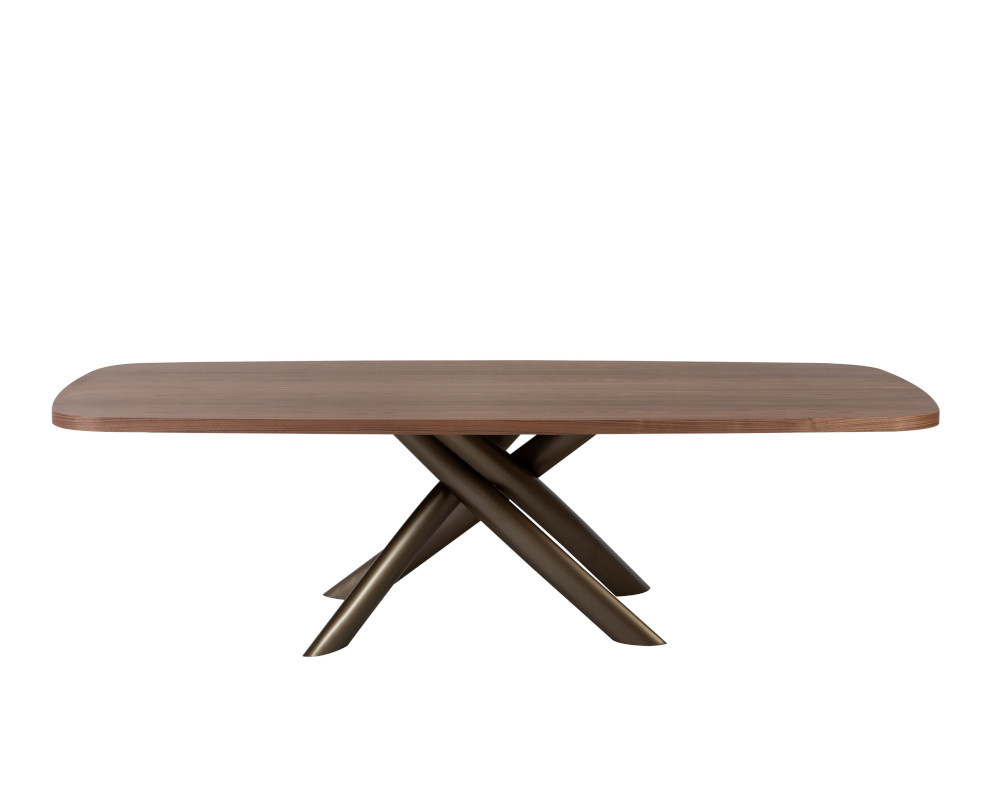 Style Wood Dining Table