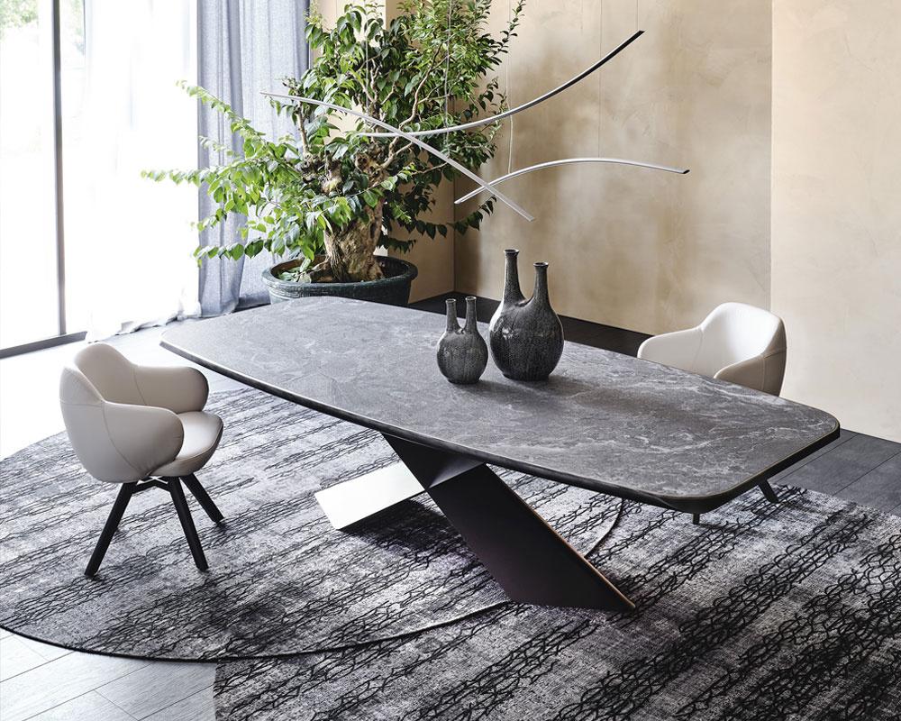Tyron Keramik Premium Dining Table