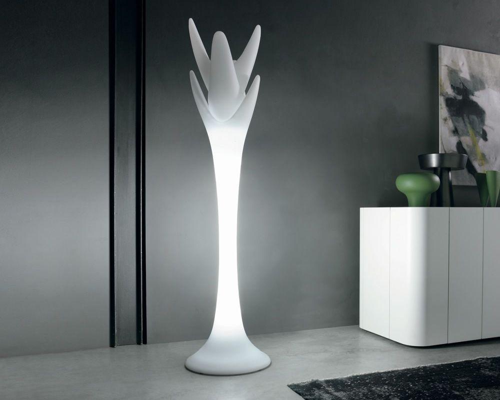 Viking White Floor Lamp