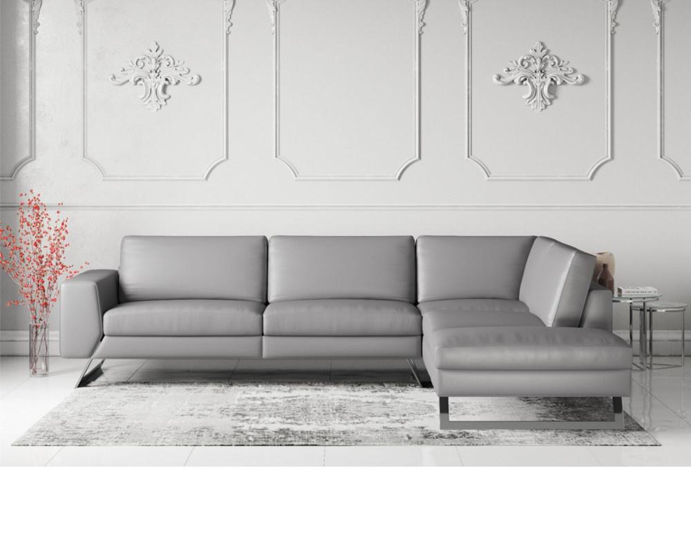 Vivid Leather Corner Sofa
