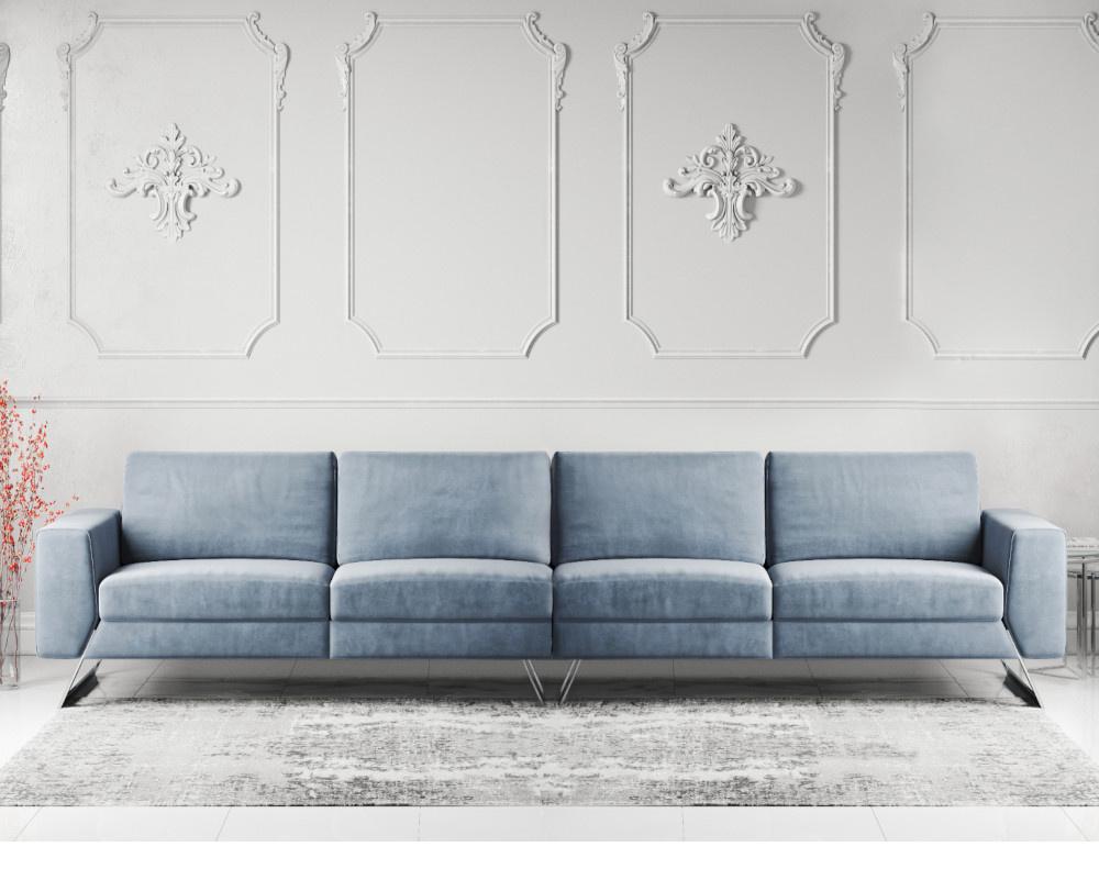 Vivid 5 / 6 Seater Fabric Sofa
