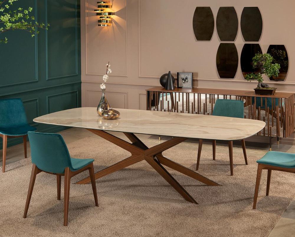 Web Dining Table Ceramic Top