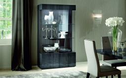 Image for Montecarlo 2 Door Glazed Cabinet