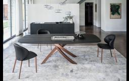 Artistico Barrel Wood Dining Table