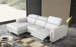 Ashley Corner Sofa - Electric Recliner