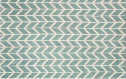 Arlo Chevron Blue Rug