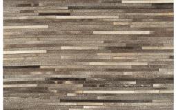 Gucho Modern Dark Grey Stripe Rug - Asiatic