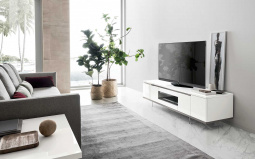 Isla White Gloss TV Unit