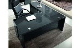 Montecarlo L Shaped Gloss Desk