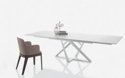 Millennium  Extending Glass Dining Table