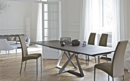 Millennium Extending Wood Dining Table