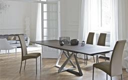 Millennium Extending Wood Dining Table