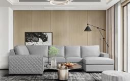 Ritz Large Leather Corner Sofa