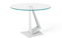 Roger Glass Round Dining Table