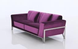 Rouche Contemporary Fabric Sofa