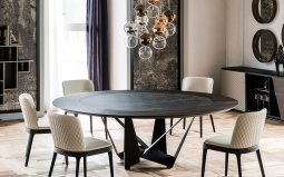 Skorpio Round Ker-Wood Dining Table