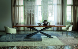 Image for Spyder Rectangular Wood Dining Table