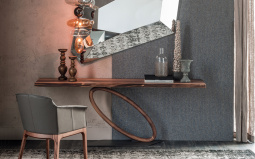 Tour Wood Console Table