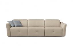 Yummy 5 /6 Seater Large Italian Recliner Sofa