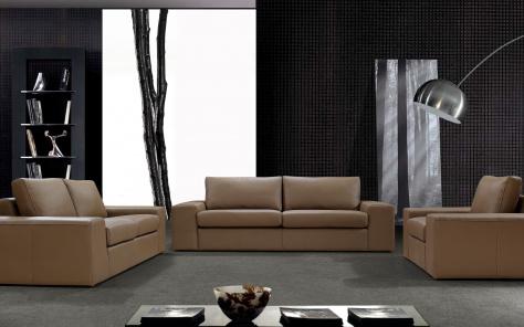 Santo Leather Sofa