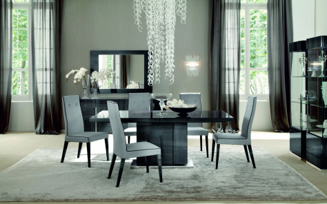 Montecarlo Extending Dining Table - High Gloss Finish
