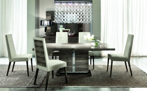 Monaco Extending Dining Table - Solid Wood Table