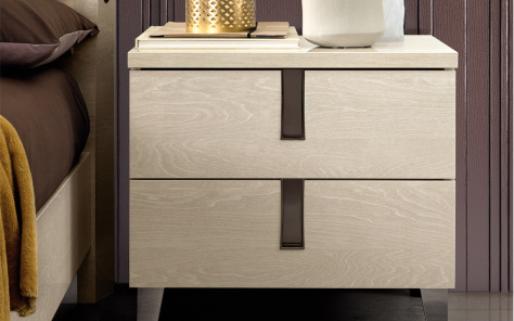 Ombre 2 Drawer Nightstand