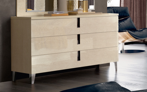 Ombre 3 Drawer Chest