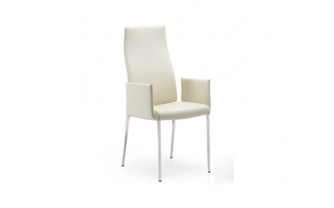 Anna High Back Carver Dining Chair - Cattelan Italia