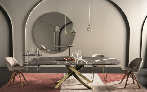 Artistico Barrel Dining Table