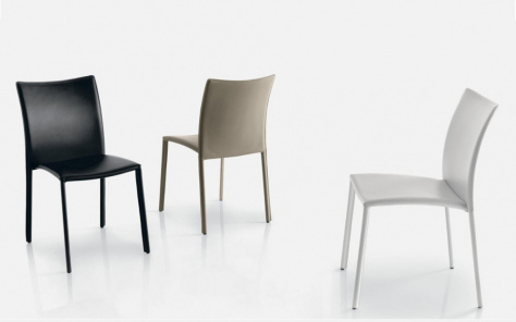 Bontempi Simba Dining Chair in Eco Leather