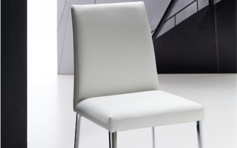 Bontempi Mila Metal Frame Dining Chair